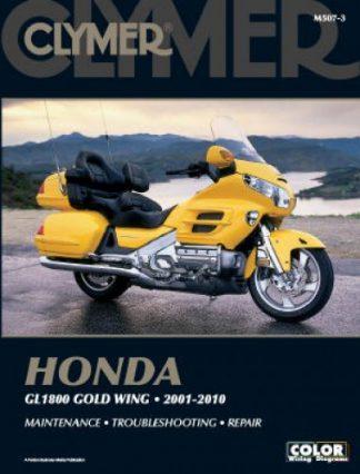 Honda GL1800 Gold Wing 2001-2010 Clymer Repair Manual