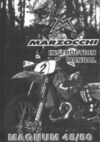Official KTM Marzocchi Magnum 45 50 Fork Instruction Manual