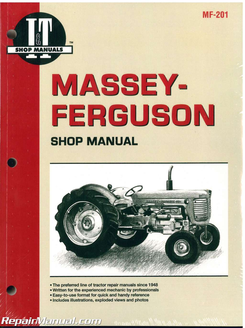 Massey Ferguson MF65 85 88 Super 90 90WR 1100 1130 1150 1105 1135 1155 1080  1085 Tractor Shop Manual