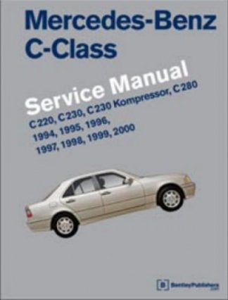 Mercedes Benz C Class W202 Service Manual 1994 2000