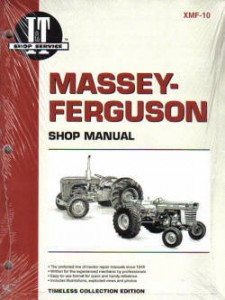 Massey-Ferguson 303, 333, 404, 406, 444 and 1001 Farm Tractor Workshop Manual