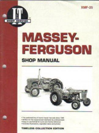Massey-Ferguson MF25 MF130 Repair Manual