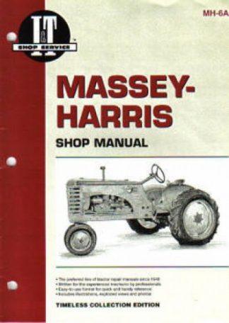 Massey-Harris 16 Pacer Farm Tractor Repair Manual