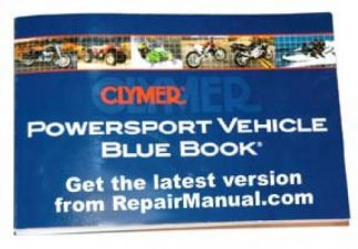 Clymer 2004 Powersport Vehicle Blue Book
