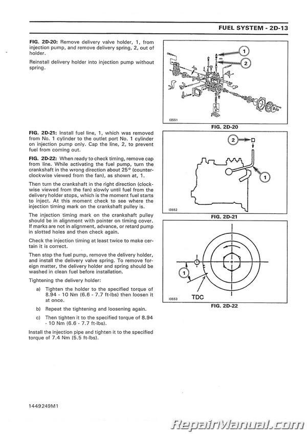 massey ferguson 1125 1140 1145 1240 1250 1260 compact diesel tractor service manual Branson Tractor Wiring Diagram