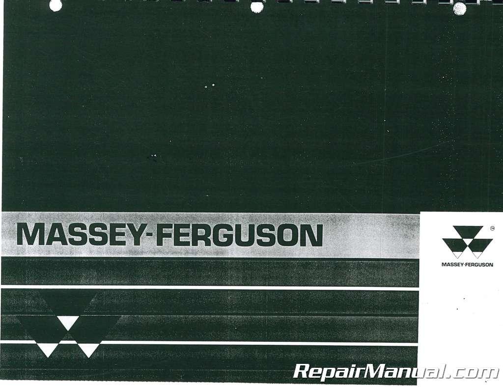 massey ferguson  compact tractor parts manual