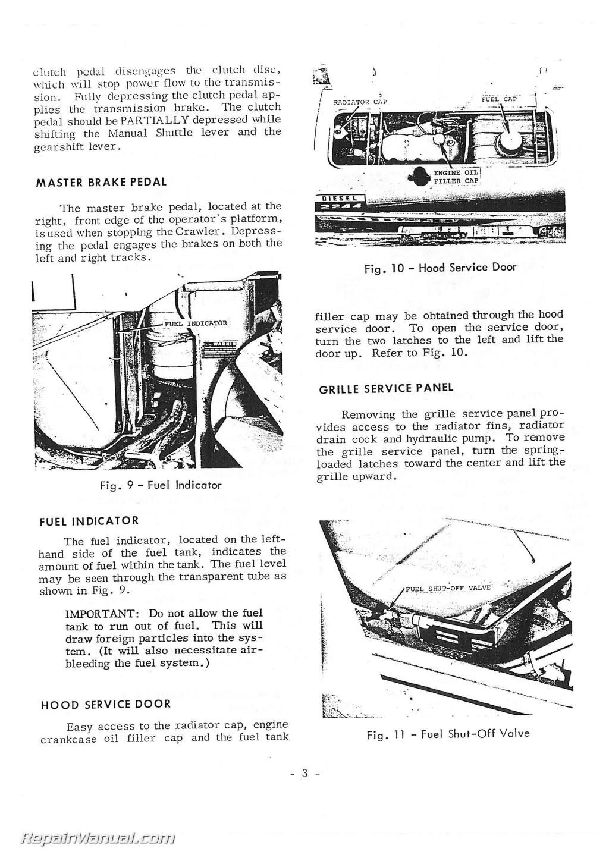 Diesel power generator parts Operators Manual