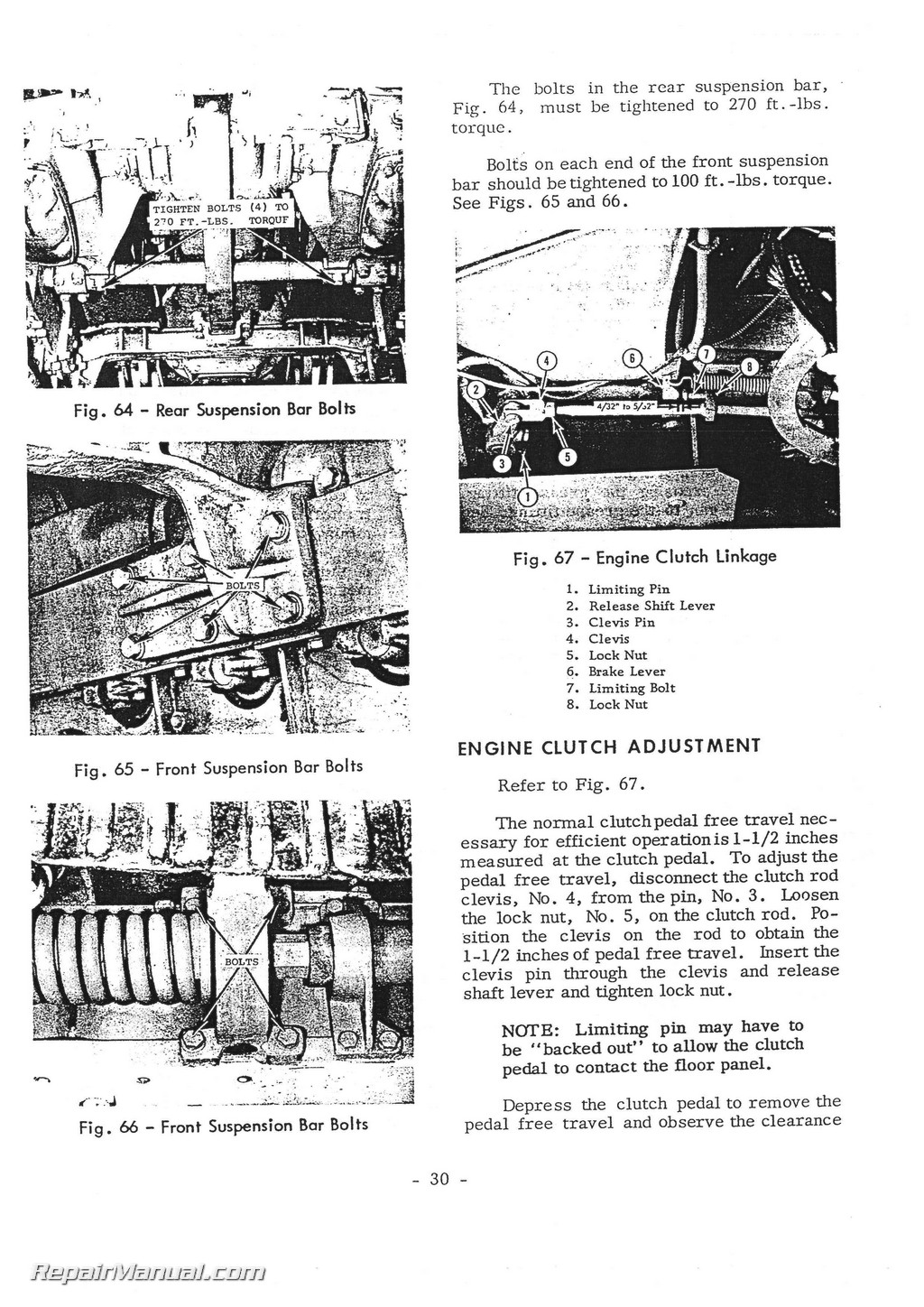 massey ferguson 2244 diesel crawler operators manual