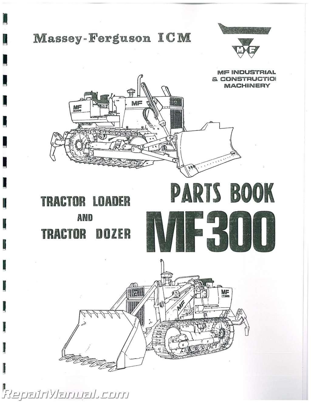 Massey Ferguson Repair Parts : Massey ferguson crawler parts manual