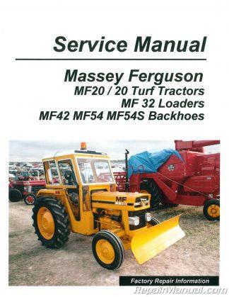 Massey Furguson Harris Manuals - Repair Manuals Online