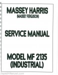 Massey Ferguson MF 2135 Gas Diesel Service Manual_001