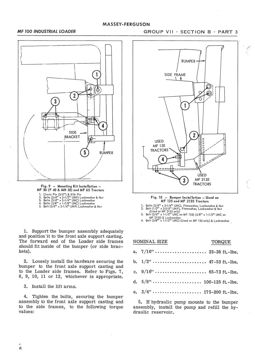 Massey Ferguson 65 Parts Diagram : Massey ferguson mf loader service manual