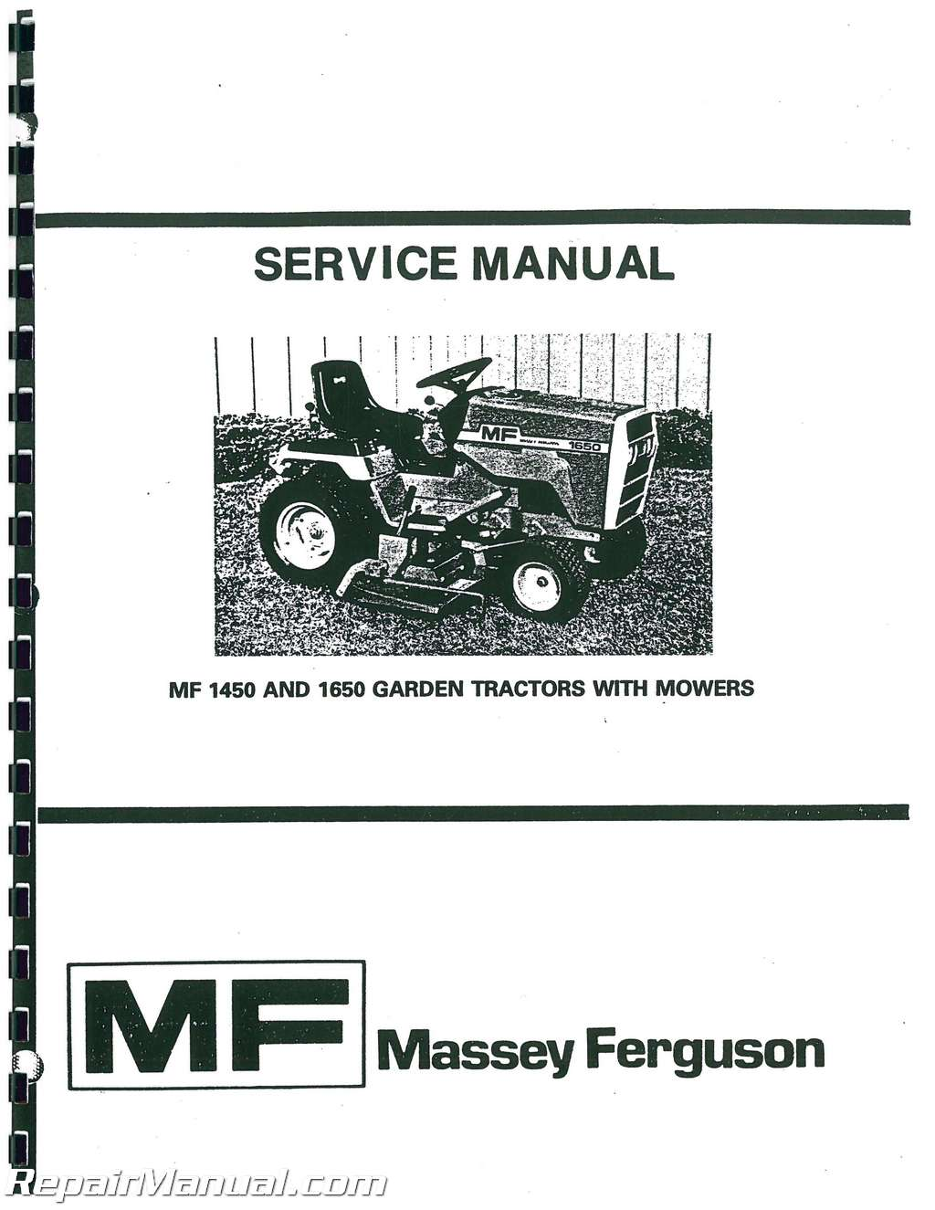 massey ferguson 6120 service manual