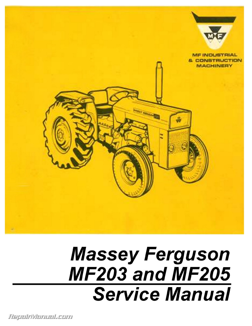 Massey Ferguson 2615 Repair Manual