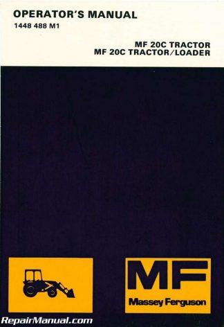 Massey Ferguson TEA-20 TED-20 Tractor Service Manual