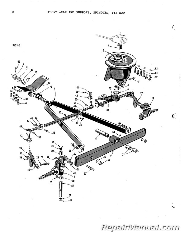 Massey Harris Mf33 33k Parts Manual