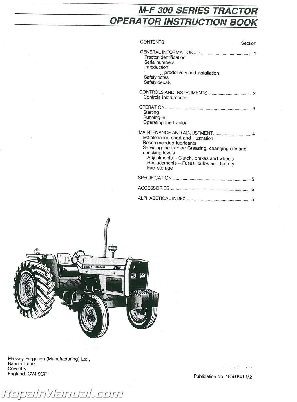 Manual Massey Ferguson 398 Polaris Electric Terminal Fuse Circuit Board Genesis Ffi Ficht Virage Array Mf350 Mf399 Dsl Tractor Operators Rh Repairmanual