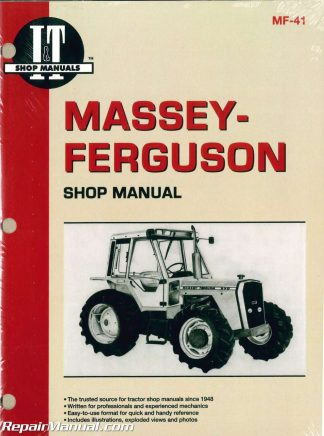 massey-ferguson mf670 mf690 mf698 tractor manual
