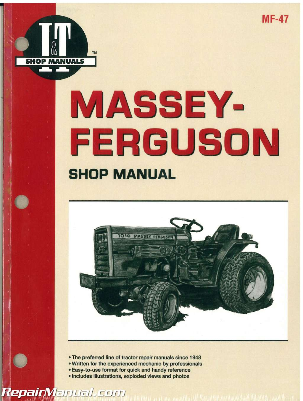 Massey Ferguson Massey Harris 1010 1020 Tractor Manual IH Super C Wiring  Diagram Wiring Diagram For 350 Farmall 350