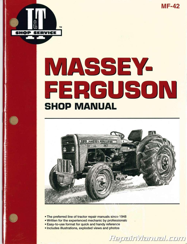 245 Massey Ferguson Engine Diagram Not Lossing Wiring 65 Harris Mf230 Mf235 Mf240 Mf245 Mf250 Tractor Rh Repairmanual Com 865