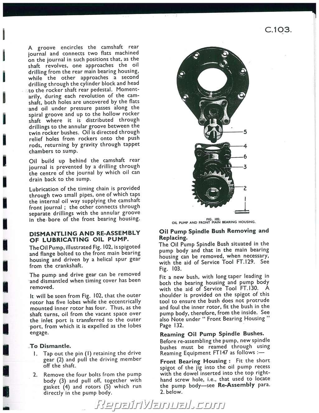 massey ferguson tea 20 ted 20 tractor service manual rh repairmanual com Cartoon Manual User Manual PDF