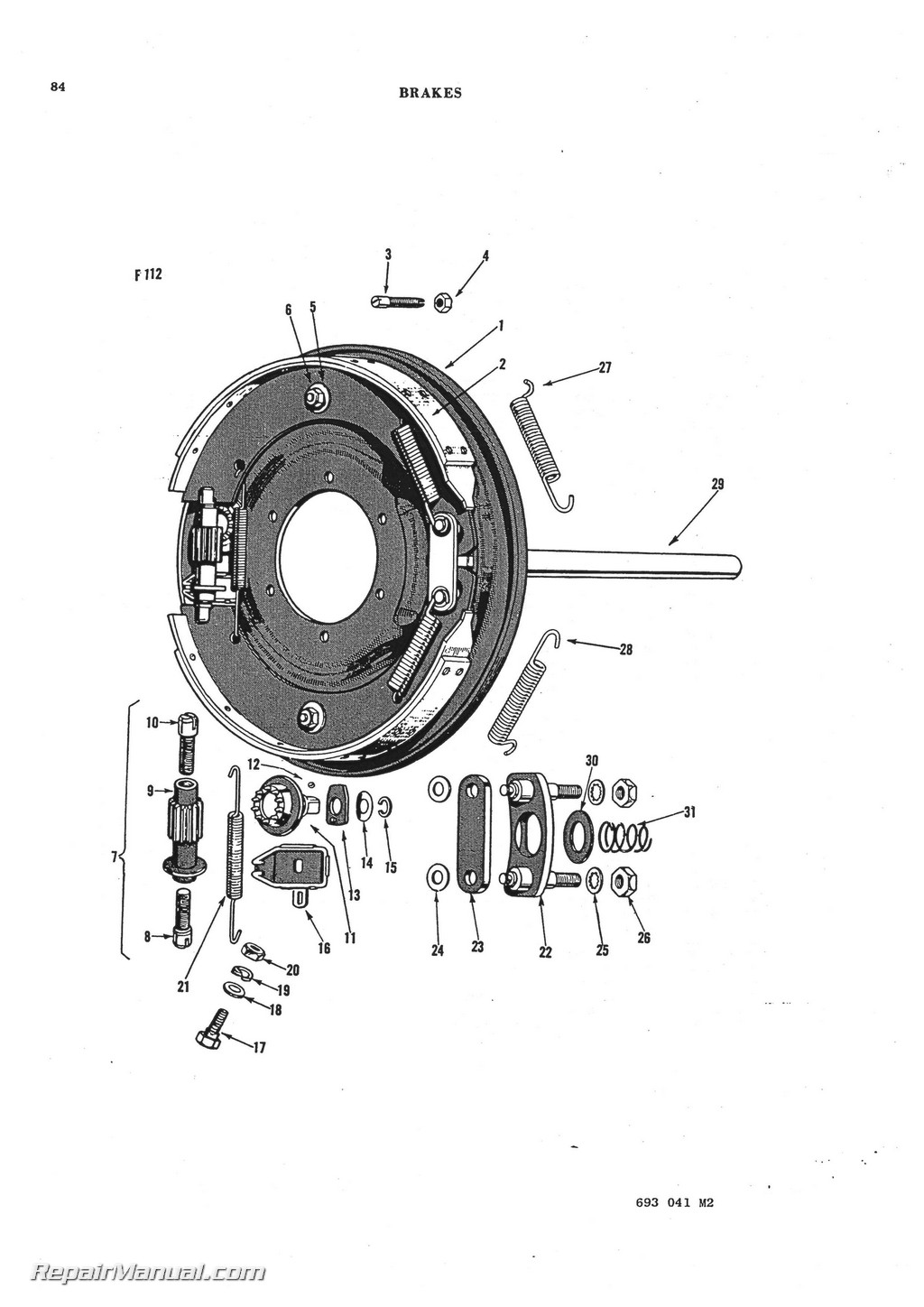 Massey Ferguson TO 30 TO 20 TE 20 TEA 20 Parts Manual_Page_3 massey ferguson to 30 to 20 te 20 tea 20 parts manual