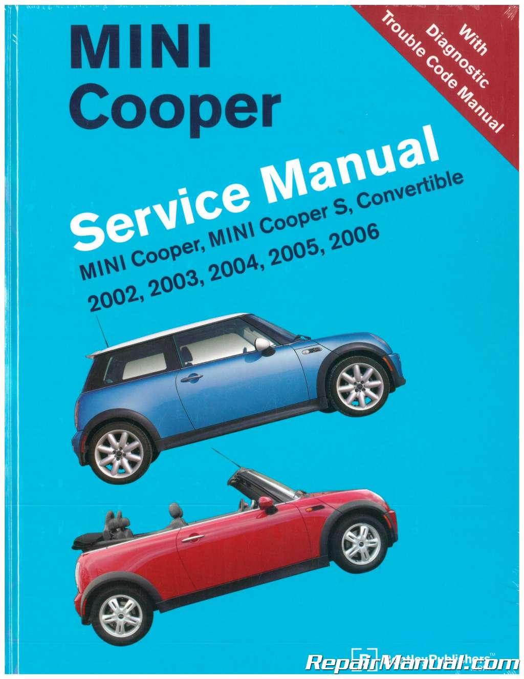 mini cooper service manual 2002 2006 rh repairmanual com Merck Diagnostic Manual DSM to the Scientific Basis