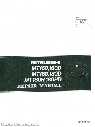 mitsubishi mt250 tractor wiring diagram international tractor wiring diagram mitsubishi mt160 mt160d mt180 mt180d mt180h mt180hd mt210 #14