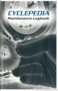 Motorcycle Maintenance Log Book_001