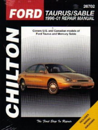 Chilton Ford Taurus Sable 1996-2005 Repair Manual