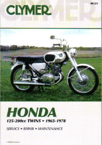 125 200cc cb cl ca twin cylinder 1964 1978 honda clymer motorcycle rh repairmanual com USA Honda Motorcycle Repair Manual honda motorcycle repair manuals 1998 1100