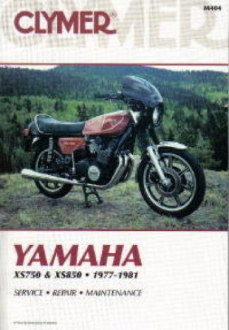 Clymer Yamaha XS750 850 1977-1981 Repair Manual