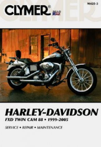 1999-2005 Harley Davidson Dyna Glide Twin Cam Clymer Repair Manual