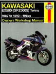 Haynes 1987-1993 Kawasaki EX500 Ninja Repair Manual