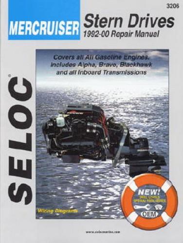 Seloc Mercruiser Stern Drive Inboard 1992-2000 Repair Manual