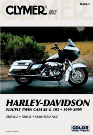1999-2005 Harley-Davidson FLH FLT Twin Cam 88 Repair Manual Clymer