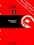 John Deere 1217 1219 Mower Conditioners Operators Manual