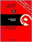 Used John Deere 5720 and 5820 Self-Propelled Forage Harvester Operator Manual