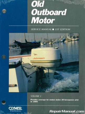 1972-1989 Mercury 45-225 hp Clymer Outboard Boat Engine
