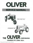 oliver cockshutt g t series farm tractor repair manual
