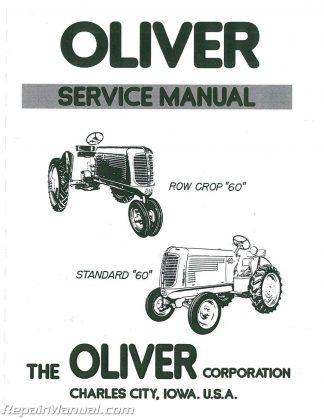 OLIVER COCKSHUTT 66    77    88 660 770 880 Series 99 GMTC 950