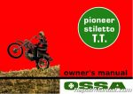 Ossa Pioneer Stiletto TT Motorcycle Owners Manual_Page_1