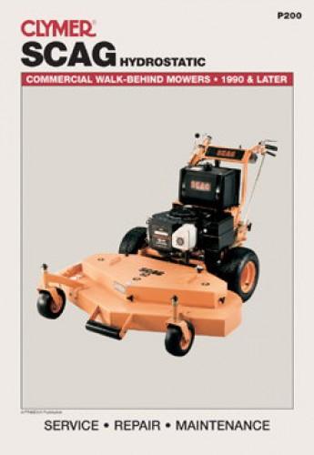 scag hydrostatic commercial walk behind lawn mower service manual rh repairmanual com scag tiger cub repair manual scag wildcat repair manual