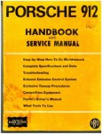 1969 Porsche 912 Owners Handbook and Service Manual used