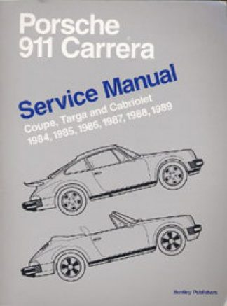 Porsche 911 Carrera Service Manual 1984-1989