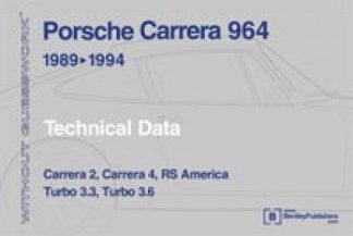 Porsche Carrera 911 964 1989-1994 Technical Data Without Guesswork