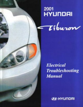 2001 Hyundai Tiburon Electrical Troubleshooting Manual