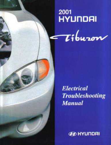 2001 hyundai tiburon electrical troubleshooting manual rh repairmanual com 2000 Hyundai Tiburon 2004 Hyundai Tiburon