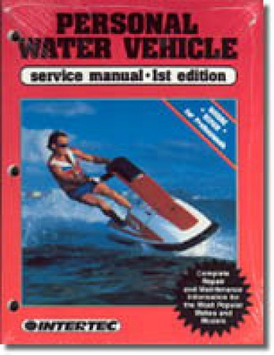 Clymer Pro Personal Water Vehicle 1980-1988 Service Manual