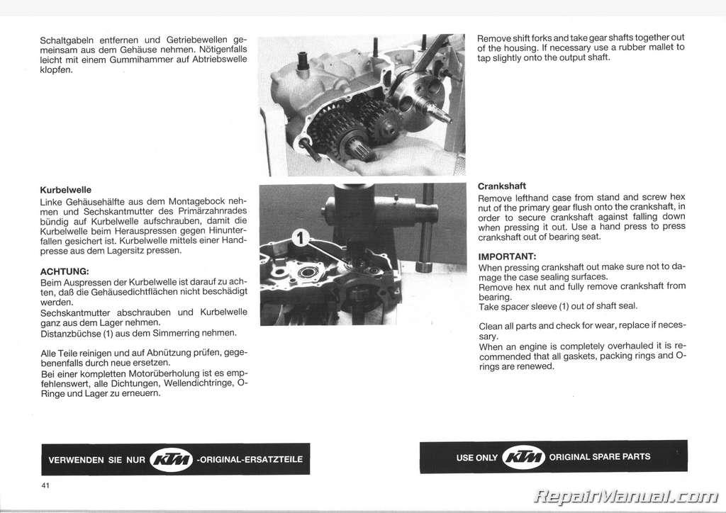1987 ktm 250 mx enduro motorcycle owners repair manual. Black Bedroom Furniture Sets. Home Design Ideas